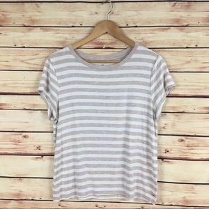 American Eagle Soft & Sexy Tee Shirt Striped Large